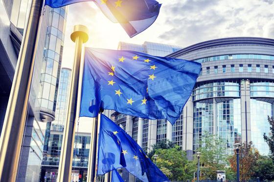 Transportatorii români participă astăzi la protestul din faţa Parlamentului European