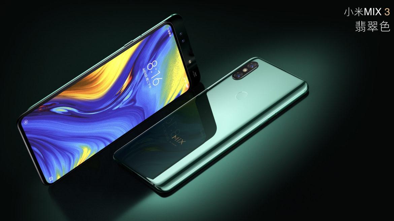 Xiaomi Mi Mix 3 disponibil pentru români