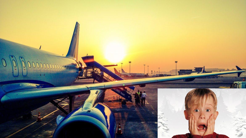 'Singur Acasă' pe bune într-un aeroport din Arabia Saudită
