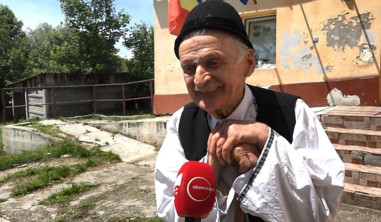 Mesajul românului care a votat la 102 ani