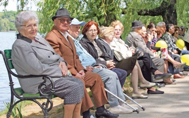 pensii mari în România