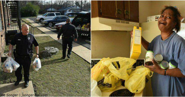 Ce i-a făcut un polițist unei femei care a furat 5 ouă