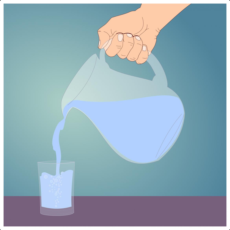 lichidul care hidratează cel mai bine